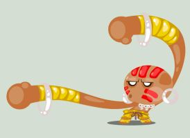 Dhalsim by vancamelot