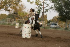 barrel racing01 by Kaliska