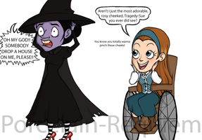 What Really Killed The Wicked Witch Of The East by Porcelain-Requiem