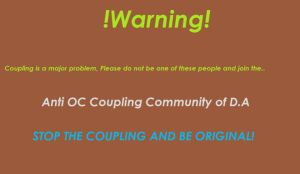 Anti OC Couple petition poster by silverine17