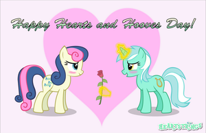 Happy Hearts and Hooves Day! by TriteBristle
