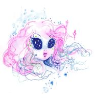 Spaced Out Girl by OhAnneli