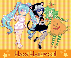 Happy Halloween from SRP by AkiGlancy