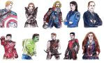 Marvel Characters by JOSGUI