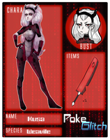 .:Poke Glitch - Kusa:. by Forestii