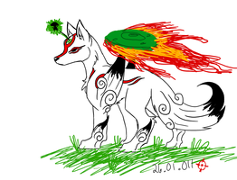 Okami LoL by SneakingSniper