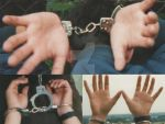 Boys hands in handcuffs II. by SneakerBoyBondage