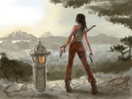 Tomb Raider Reborn - Misty Mountains by littlesusie2006