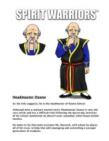 Ozana's Character Biography by SpiritWarriors