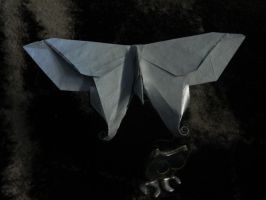 Origami Butterfly by NordyFox
