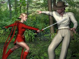 Indy vs. Red Raider by Athenion