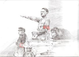 Hitler by FeiGiap