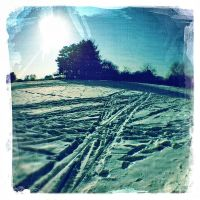 snow-painting by crh