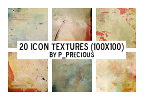 20 Icon Textures by yawee