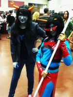Vriska and Terezi by MissDespair117