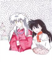 InuYasha: Winter by sonic4568