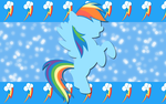 Rapid Rainbow Dash WP by AliceHumanSacrifice0