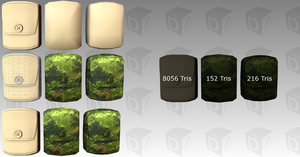 MilitaryUtilityBag AllTypes HD by Dosiguales