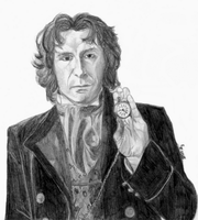 8th Doctor Portrait by ThePeculiarMissE