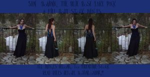 The Blue Rose Lake View Pack by HiddenYume-stock