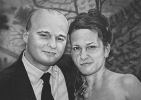 Marian and Alenka - wedding photo by MiStr8022