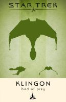 Star Trek Klingon Bird of Prey by LiquidSoulDesign