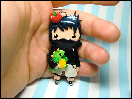 Kid Sasuke Charm II by GrandmaThunderpants
