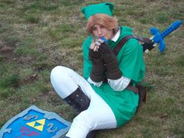 link cosplay - relaxing by DanteJackpot