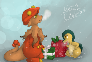 It's christmas already?! -Team Presto SecretSanta- by LittleWhiteWolfAngel