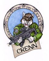 Crenns Badge Done by lady-cybercat