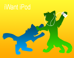 iWant iPod by therougecat