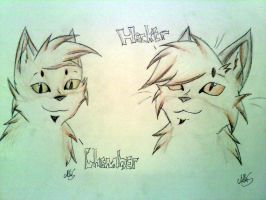 Chamber and Hacker by Bast-The-Cat-Goddess