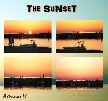 The hour of sunset! by Astrinos