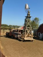truck and windmill by robhas1left