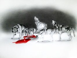 The Scarlet Misery by FlashofWildfire