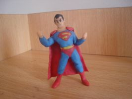 Superman en plastilina by fsalkatras
