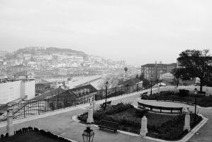 Misty Lisbon by sacadura