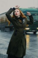 Dancing on a Highway by iomaSaty
