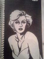 Marilyn Monroe by shanbanan97