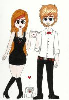 Marzia and Felix by evil-kitty-chan