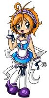 Maid Girl Bookmark 2 by Rena-Muffin
