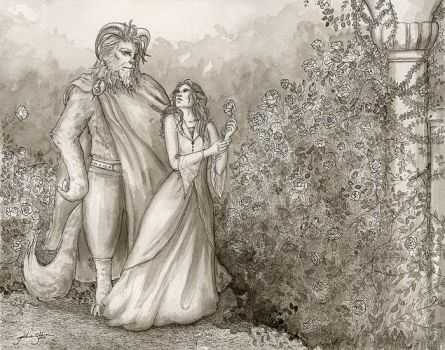 Beauty and the Beast by jackieocean