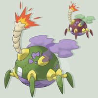 Fake Off -- Fakemon Bomba by mssingno