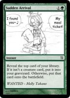 MtG: Sudden Arrival by Overlord-J
