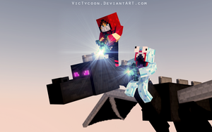 Bye, Ender Dragon by VicTycoon