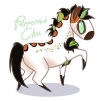 Padro I Peppermint Choc I chibi by RogueDraken