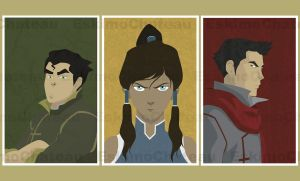The Legend of Korra by eskimochateau