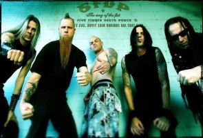Five Finger Death Punch - 5 by sarahdope