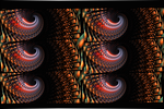 Fractal Wallpaper XLV: Back and Forth by ScraNo