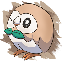 Rowlet by Forgotten-Twilight